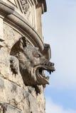 Moszna-Schloss des 17. Jahrhunderts, Turm mit Details, oberes Schlesien, Polen Stockfotografie