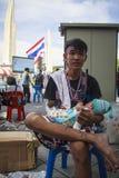 Mot amnestiräkninglagen i Thailand. Royaltyfria Bilder