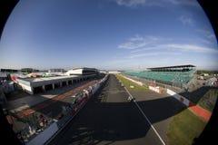 MOT: British Superbike warm up Royalty Free Stock Images