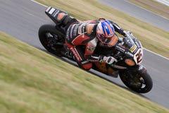 MOT: British Superbike warm up Royalty Free Stock Image