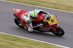 MOT: British Superbike warm up Stock Photo