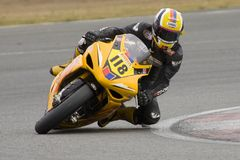 MOT: British Superbike warm up Stock Photography