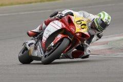 MOT: Britse opwarming Superbike royalty-vrije stock foto's