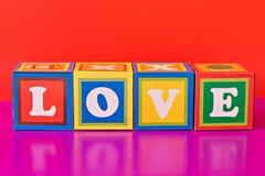 mot coloré   Image stock