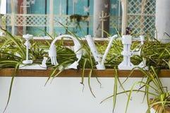 Mot d'amour Images libres de droits