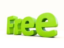 mot 3d gratuit Images stock