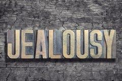 Mot de jalousie brûlé en bois Photo libre de droits