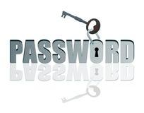 Mot de passe déverrouillé Image libre de droits
