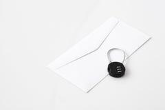 Mot de passe de sécurité d'email Image stock