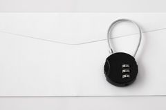Mot de passe de sécurité d'email Photo libre de droits