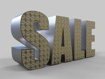 Mot de vente Image stock