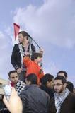 mot demonstrering av egyptiermilitärregel Royaltyfri Bild