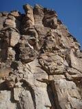 mot den blåa mexico nya rockfaceskyen Royaltyfri Bild