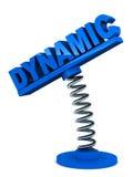 Dynamique Photo stock