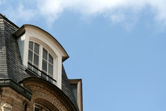 mot skyfönster Royaltyfria Bilder
