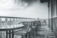 mot victorianen welsh för pir för bakgrundclevedonkostnad fotografering för bildbyråer