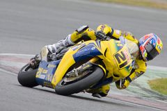 MOT: Warm up britânico de Superbike foto de stock royalty free