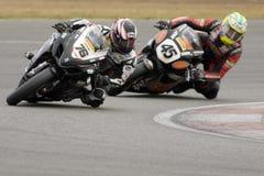 MOT: Warm up britânico de Superbike imagens de stock royalty free