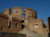 Mota castle in Medina del Campo royalty free stock image
