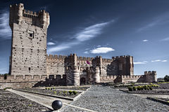 Mota Castle, Spain Stock Photo