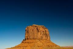 Mota de Merrick en el valle del monumento, Arizona Fotografía de archivo