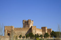 Mota's Castle. Medina del Campo, Valladolid, Spain Royalty Free Stock Photo