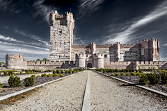Mota´s Castle, Spain Royalty Free Stock Photography