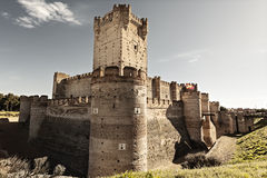 Mota´s Castle, Spain Stock Photo