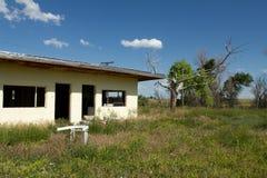Motel abbandonato Fotografie Stock Libere da Diritti