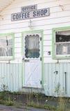 Motel abbandonato Immagini Stock