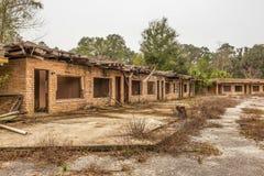 Motel abbandonato vicino a sidro di pere, Florida Fotografie Stock Libere da Diritti