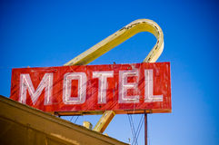 Motel Americana Stock Photo