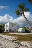 Motel auf dem Strand Lizenzfreies Stockbild