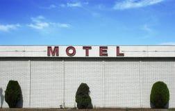 Motel de la vendimia imagenes de archivo