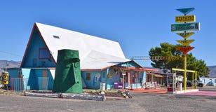 Motel de Ranchero, Kingman, Route 66 photographie stock libre de droits
