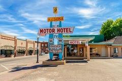 Motel dell'Arizona 9 fotografie stock libere da diritti