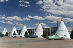 Motel do Wigwam imagem de stock royalty free