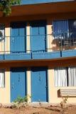 Motel in Los Angeles rand royalty-vrije stock afbeeldingen