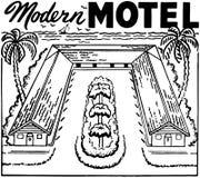 Motel moderno Immagine Stock