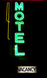 Motel Neon Royalty Free Stock Photo