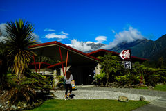 Motel in Nieuw Zeeland royalty-vrije stock fotografie