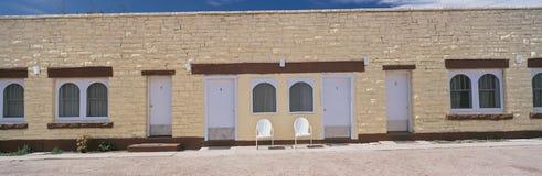 Motel op Route 66 royalty-vrije stock afbeeldingen