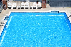 Motel Pool Stock Photography