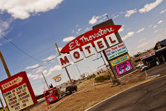 Motel Route 66 Royalty Free Stock Image