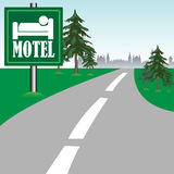 Motel sign Stock Photos