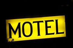 Free Motel Sign Royalty Free Stock Photography - 23580147