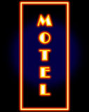 Motel Sign royalty free stock images