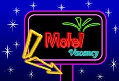Motel sign board Stock Photos