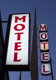 Motel signs Royalty Free Stock Photos