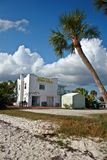 Motel sulla spiaggia immagine stock libera da diritti